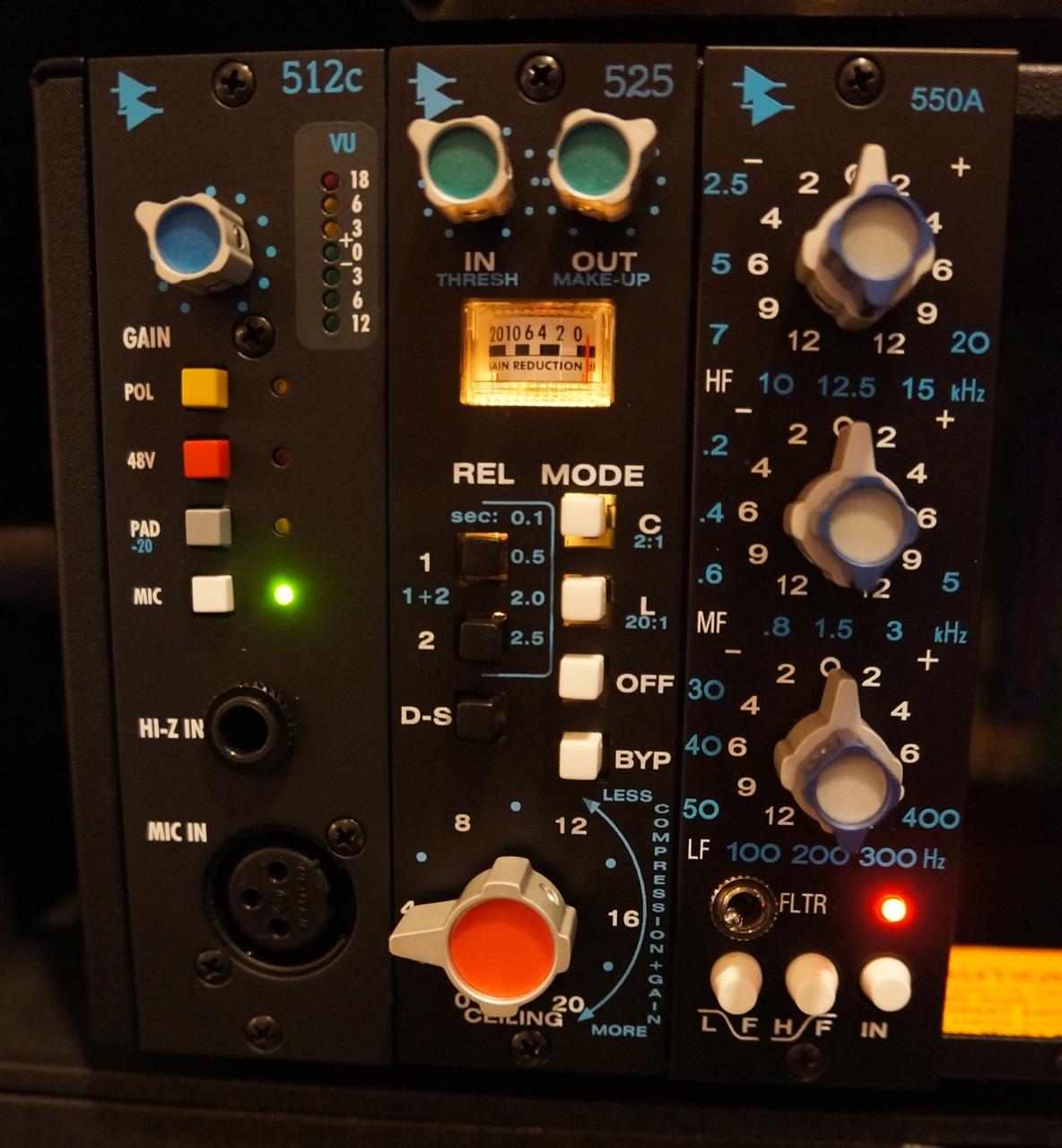 Studio B Gear | Parhelion Recording Studio Atlanta