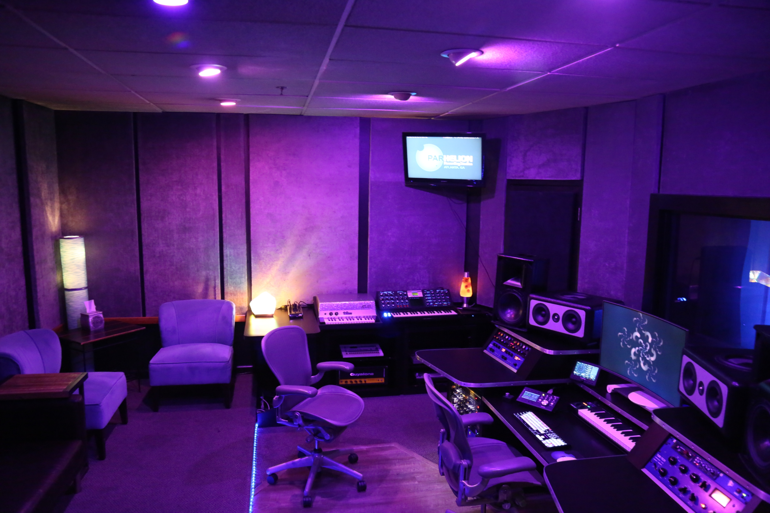 Studio A Side View