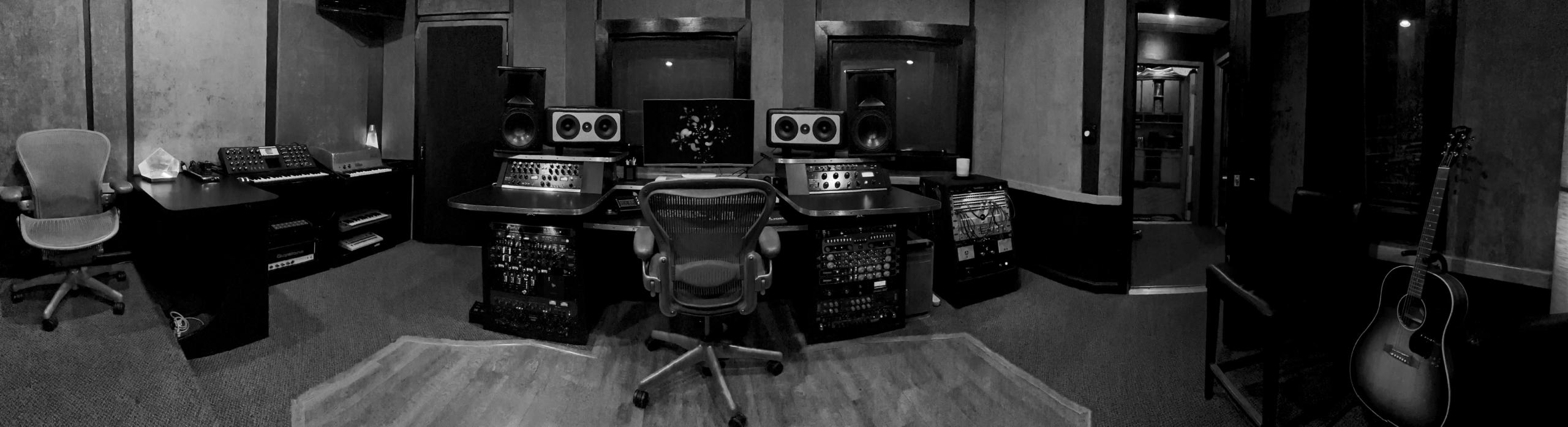 Studio A Pano B&W